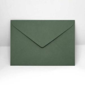 Briefumschlag dunkelgrün C5