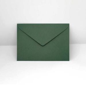 Briefumschlag dunkelgrün