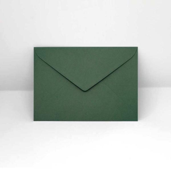 Briefumschlag dunkelgrün C6