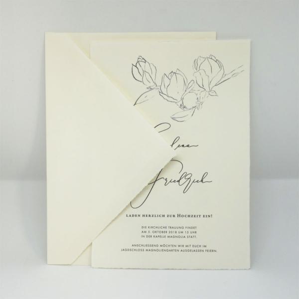 Briefumschlag Bütten C5