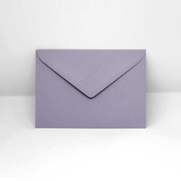Briefumschlag lavendel C6