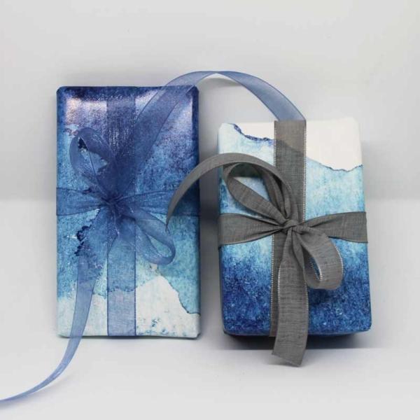 Geschenkpapier Aquarell
