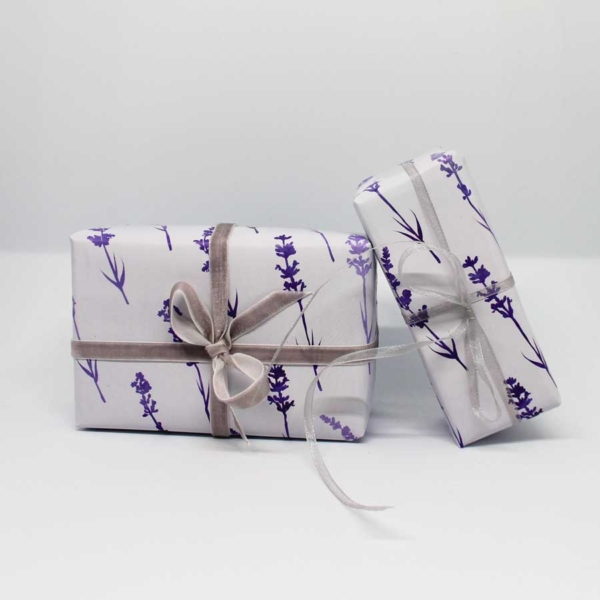 Geschenkpapier Lavendel