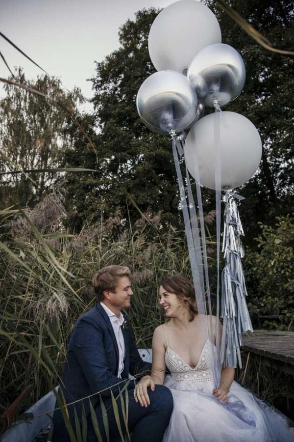 Hochzeitsdekoration Ballonset