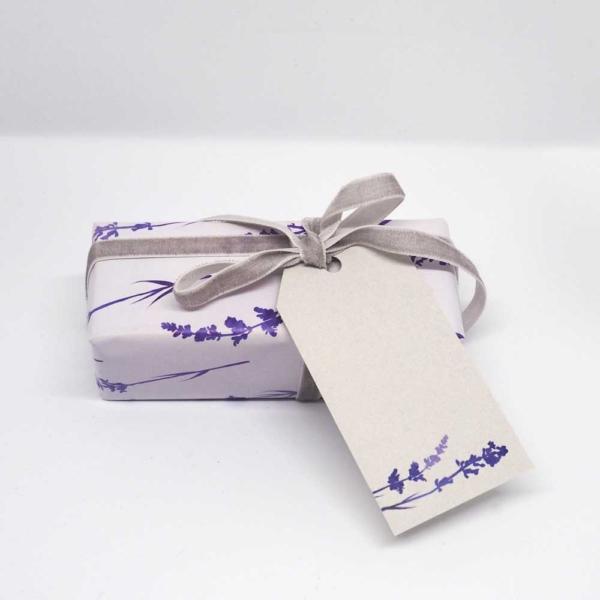 Geschenkanhänger Lavendel