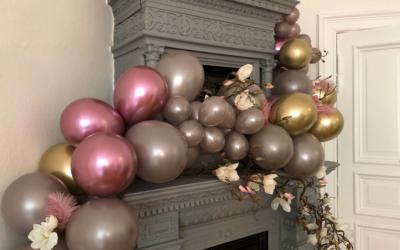 Luftballongirlande selber machen!