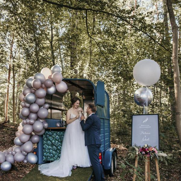 Willkommensschild Eukalyptus Sitzordnung Eukalyptus Luftballongirlande Luftballons Hochzeit Ballongirlande