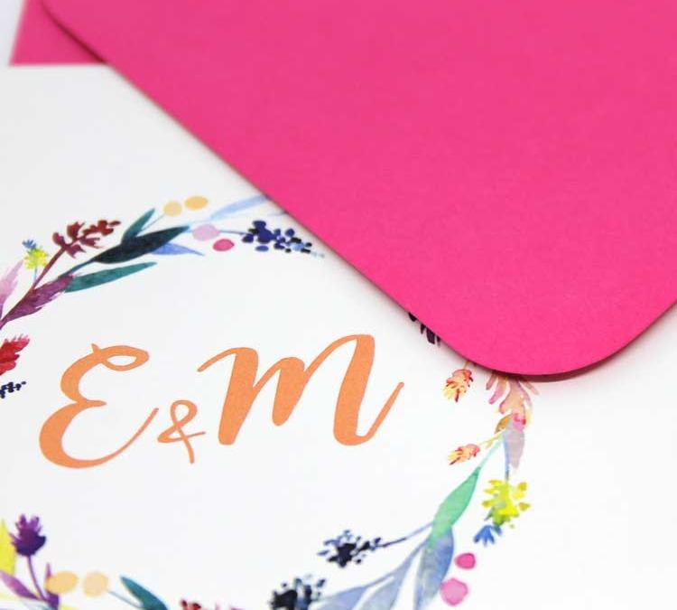individuelle Hochzeitspapeterie personalisierte Hochzeitseinladungen Einladungskarten gestalten