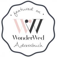 Individuelle Hochzeitspapeterie und Hochzeitsdekoration empfohlen von WonderWed
