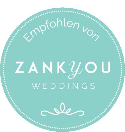 Individuelle Hochzeitspapeterie und Hochzeitsdekoration empfohlen von zankyou