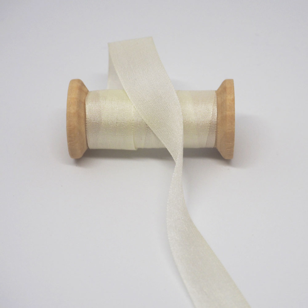 Seidenband Creme 13mm